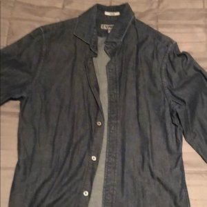 Denim buttoned down long sleeve